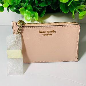 NWT/ Kate Spade key Chain wallet-Warm Vellum